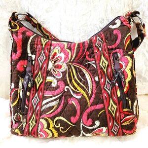 Vera Bradley Puccini Shoulder Bag Purse Retired